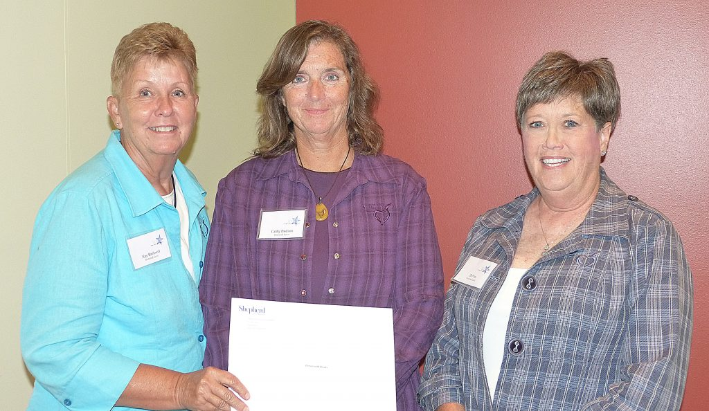 President, Executive Director, and Co-Founder Kay Barkwill, along with Cathy Dodson and JB Pike, received one of the 2016 nonprofit WISH Grants
